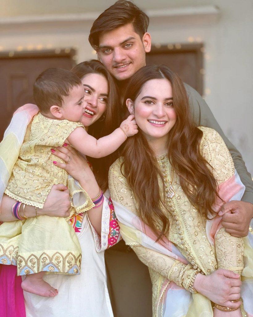 Aiman khan FAMILY